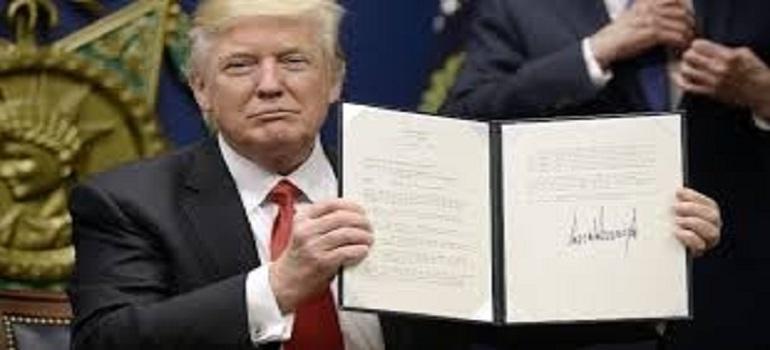 امریکی صدر ڈونالڈ ٹرمپ کا بین الاقوامی جرم 1