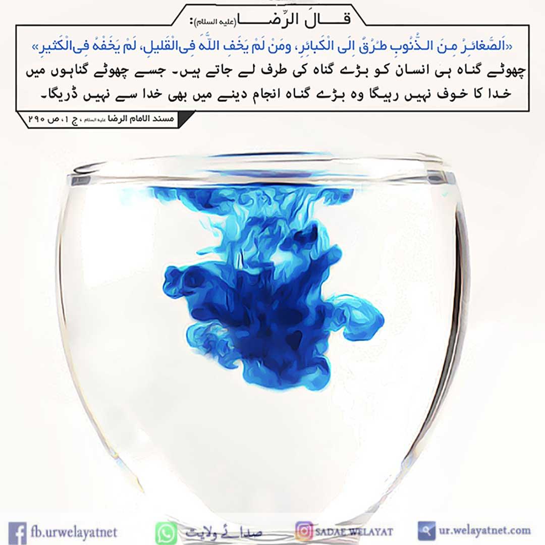 امام رضا علیه السلام کی زیارت گناہوں کی بخشش کا ذریعہ