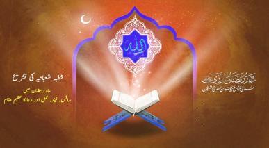 ماہ رمضان میں سانس، نیند، عمل اور دعا کا عظیم مقام – خطبہ شعبانیہ کی تشریح