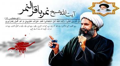 آیت اللہ سیستانی کی شیخ نمر کو شہید کرنے پر سعودی عرب کی مذمت