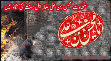 شھادت جناب محسن بن علی علیھما السلام  علماء اہل سنت کی نگاہ میں
