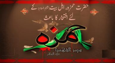 حضرت حمزہ، اہل بیت(علیہم السلام) کے لئے افتخار کا باعث