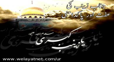 جناب زینب(سلام اللہ علیہا) کی عفت اور پاکدامنی