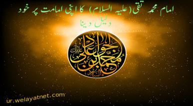 امام محمد تقی(علیہ السلام)  کا اپنی امامت پر خود دلیل دینا