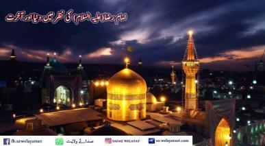امام رضا(علیہ السلام) کی نظر میں دنیا اور آخرت