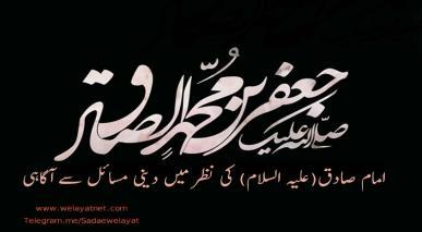 امام صادق(علیہ السلام) کی نظر میں دینی مسائل سے آگاہی