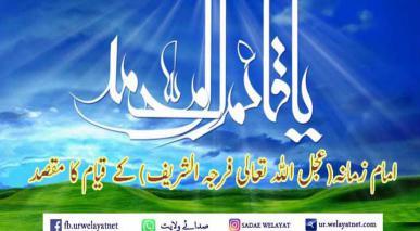 امام زمانہ(عجل اللہ تعالی فرجہ الشریف) کے قیام کا مقصد
