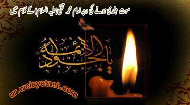 موت جلدی ہونے کی وجہ امام محمد تقی(علیہ السلام) کے کلام میں
