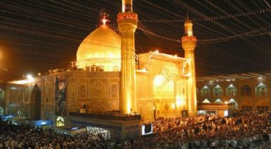 امام طلوع کرتے ہوئے سورج کی طرح