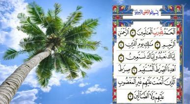 سورہ الحمد کی آیات کا مختصر تعارف